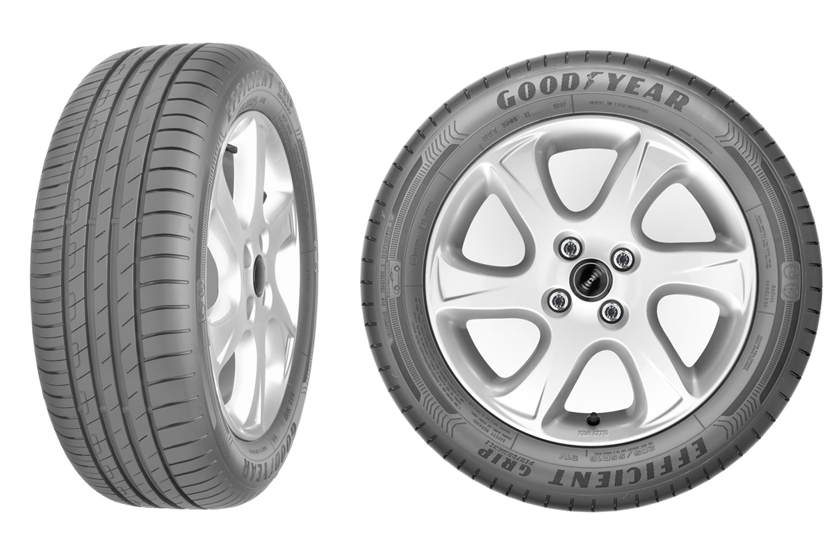 №6 – Goodyear EfficientGrip Performance