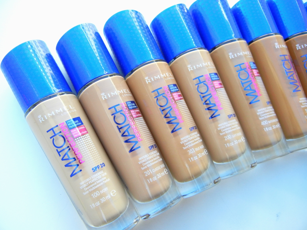 9.Match Perfection Foundation, Rimmel