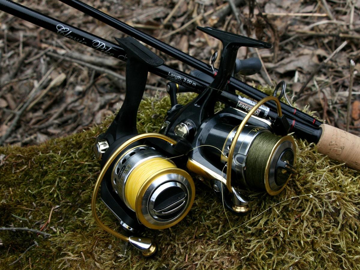 Топ-8 рыболовных катушек для спиннинга фото